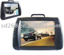 "12.5"" portable cd /dvd player boombox full function with USB, MP3,MP4 ,TV,VGA,Game"