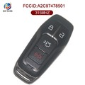 AK018064 FOR Ford Remote Key 3+1 button 315MHZ FCC ID M3N-A2C31243800 A2C97478501 IC 7812A-A2C
