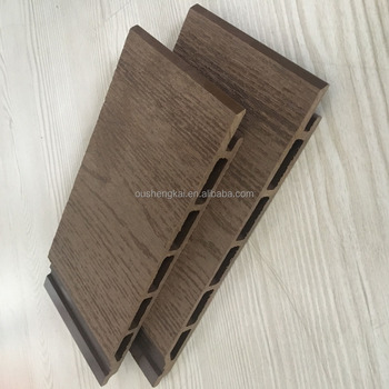 2017 hot sale outside wood plastic composit wpc panel boards plastic wall panels