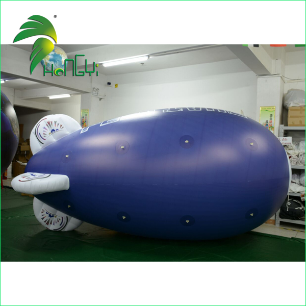 Giant Digital Printing Advertising Floating Inflatable Helium PVC Airplane Balloon