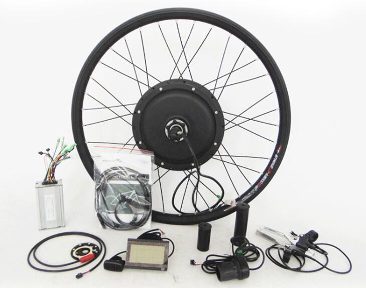 Cheap electric bike kit electric bicycle conversion kit for 500w hub motor kit