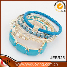 2014 Trendy Fashion Resin Charm Candy Color Yiwu Bracelets And Bangles