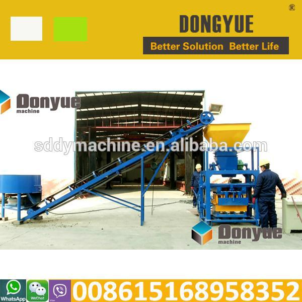 Multifuncation QT4-24 manual block moulding machinery for Sierra Leone