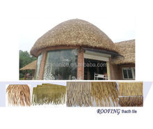 artificial plastic thatch outdoor cover roofing