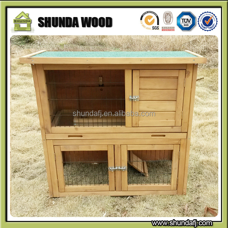 SDR01 Factory Price wholesale guinea pig indoor rabbit cages
