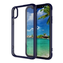 Newest telephone covers transparent shockproof mobile phone case for iphone x