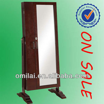 free standing mirror armoire