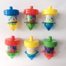 Plastic spinning top small toys for capsule