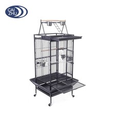 Caizhu manufacturer Cheap Large Metal Wire Bird Cage porrot cage