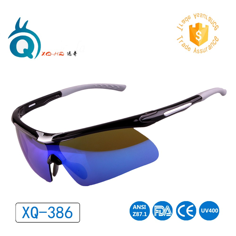 Cool men cycling sunglasses colorful polarized lens safety goggles sun glasses
