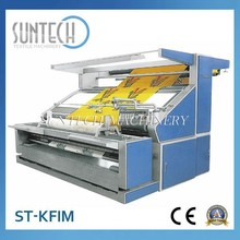 Suntech grey fabric checking device price, open width knitted fabric inspection machine