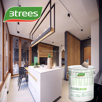 3TREES Water-based Eco Multiple Color Acrylic Satin Finish Interior Wall Paint