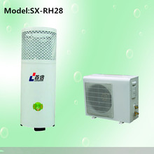 Chinese air source heat pump, better than solar water heater, geyser for heating and hot water