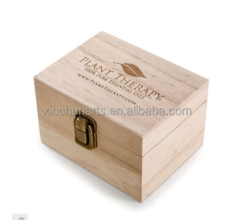 essential oil packaging wooden boxes