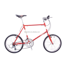 2017new fashion city style bike leisure casual personality retro mini bicycle for