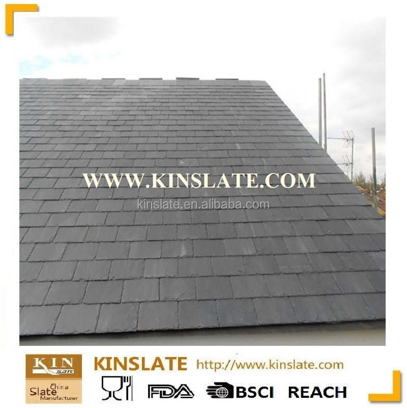 Factory Direct Sales Grey Color Cheap and Natural Decorative Slate Stone Roof Tile