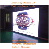 Alibaba/aliexpress factory price P6 SMD Indoor LED Video Wall Screen with Front Maintenance and WIFI Remote Control