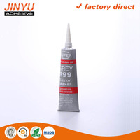 Instand bond High Temperature Grey Rtv Silicone Adhesive sanitary pads materials