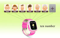 Android IOS Antilost safe Kids Smart Watch Phone GPS Tracker support Russian