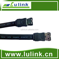 High Speed Serial ATA cable II , straight ESATA 7PIN PLUG TO PLUG