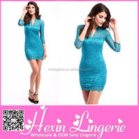 Best Selling Cheap teal plus size dress
