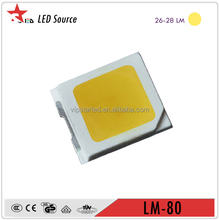 5 yrs warranty 0.2W 60mA strip light smd chip 2835 smd led datasheet
