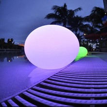 portable and mobile LED remote control light ball / magic remote control LED light ball/LED changing light ball