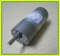 12v Permanent Magnet low speed 1.2 a dc motor with gear