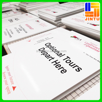 Synthetic paper framed PVC Foam board/foam filled pvc board