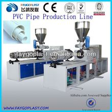 pvc pipes manufacturing process
