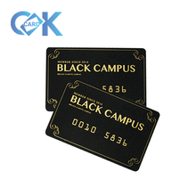Custom PVC <strong>Card</strong> Foiling Gold PVC Business <strong>Cards</strong> With Best Price~