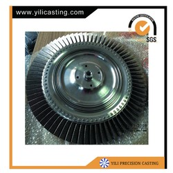 Turbine Disc For Locomotive Diesel Turbocharger Parts