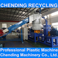 CHENDING Film plastic recycling granulation line machine with CE standered