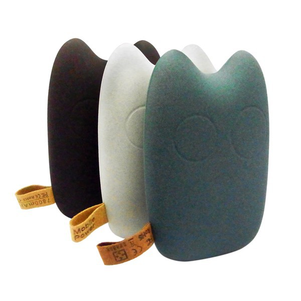 (Hot Sale) Totoro Power Bank 7800mAh, Mobile Power Charger 7800mAh, Portable Phone Charger 7800mAh