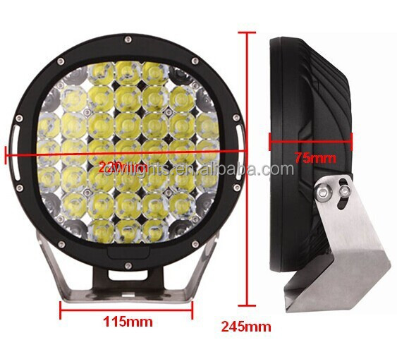 185w super bright led driving light , IP68 EMC led working light for cars