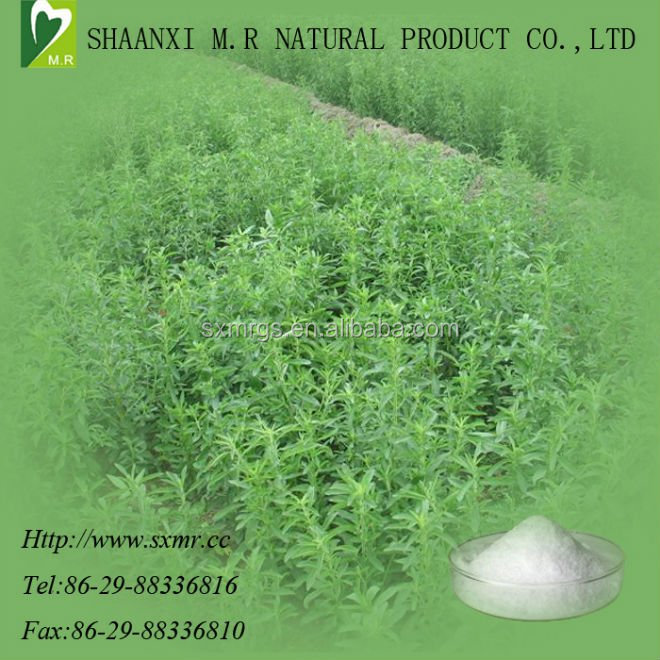 Natural stevia <strong>powder</strong> as sweetener with Rebaudioside A 40%-90%