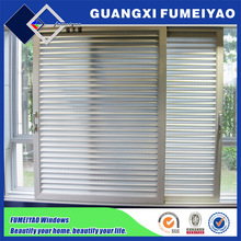 Aluminum windows blinds sliding window louvres