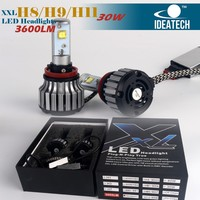 XXL series error free decode DC 12V 24V H4 h7 h9 h11 led headlight replace halogen bulb