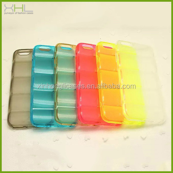 Clear body armor tpu case for iphone 6, for iphone 6 tpu case cover