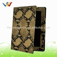 Waterproof Snake PU bag for Tablet PC Sleeve case