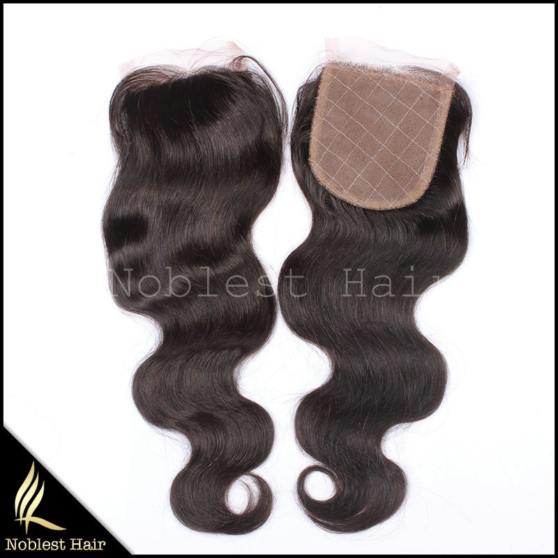 ombre hair extension lace closure,natural color body wave 12''~20'' wholesale price
