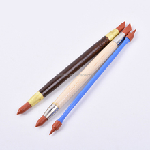 Xin 3Pcs/Set Carving clay Pottery Ceramic Rubber Pens Tool Polymer clay Sculpture Tool Soft Shaping Modeling tools
