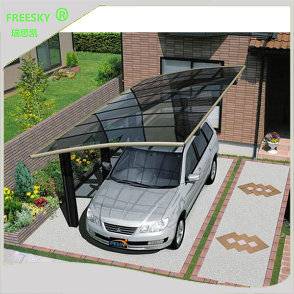 DIY Easy installation double lowes metal Aluminum Cantilever Carport