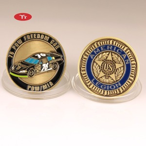 Customize soft enamel challenge coin factory outlet antique coin