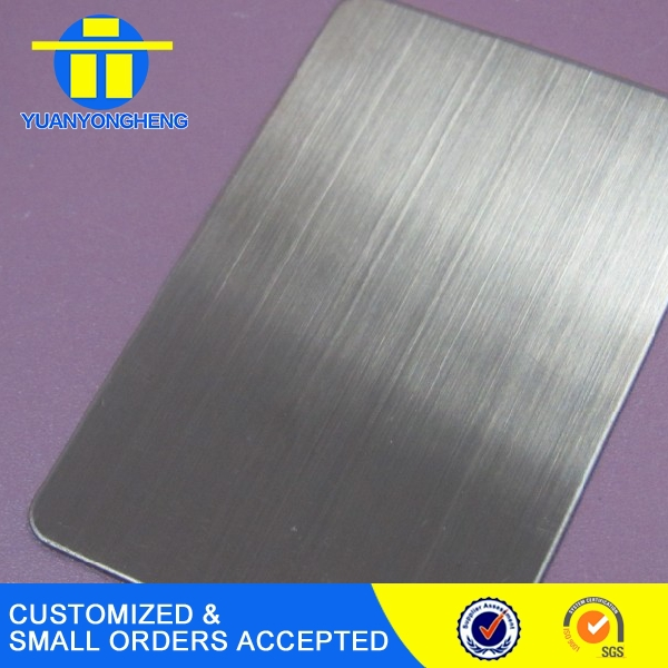 NO.4 /Stain Finish type Stainless Steel Sheet from alibaba