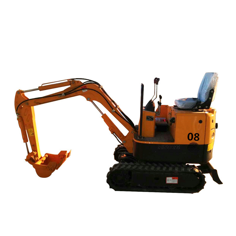 0.8 ton hydraulic craweler digger cheap price mini excavator