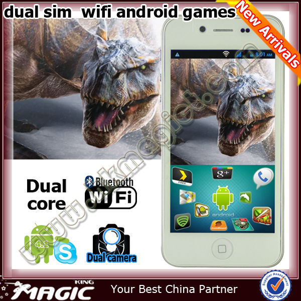 Hot no brand 3g wifi dual sim android gps mobile phone