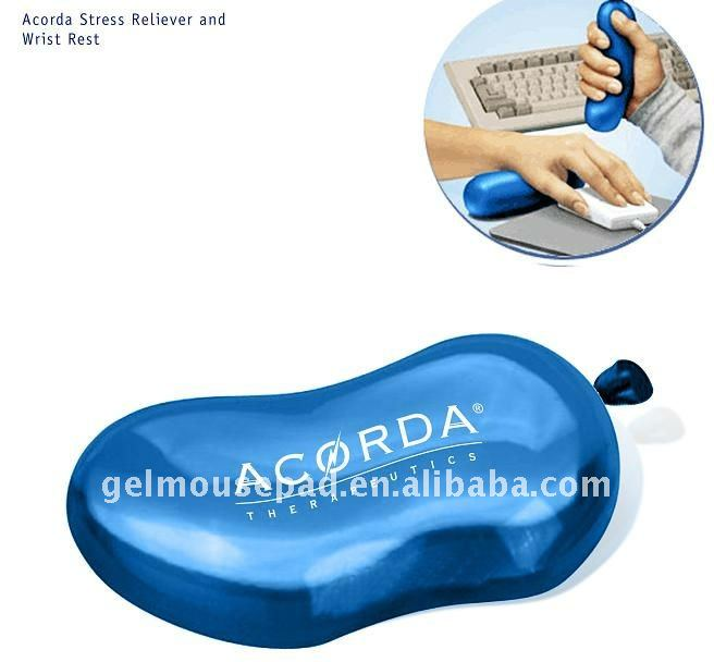 gel transparent mouse pad, wrist rest transparent mat passed SGS factory audit rohs reach