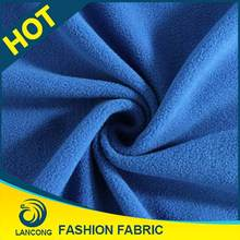 Shaoxing textile manufacturer Low price High Quality silky furry fleece fabric