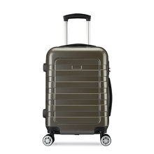 Top selling abs trolley luggage and travel bag set